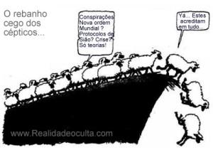 ovelhas cegas